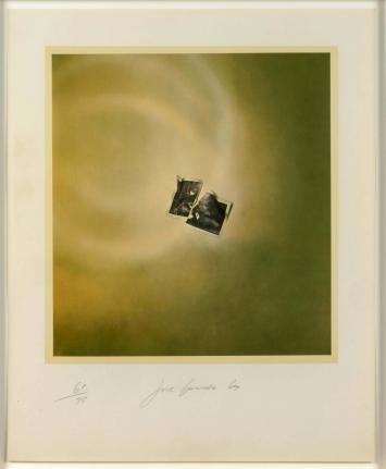 Joe Goode, Photo Cloud (Green), Lithograph