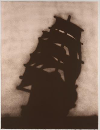 Ed Ruscha, Ship 1986, Signed Lithograph