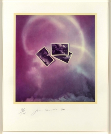 Joe Goode, Photo Cloud (Purple), Lithograph