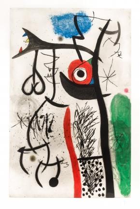 Joan Miro, L'Etrangle, 1974