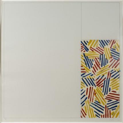 Jasper Johns, #4 (After untitled 1975), Lithograph