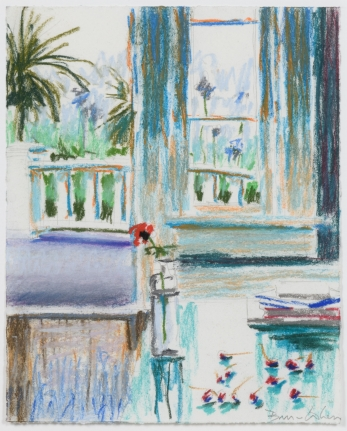 Bruce Cohen, Untitled #7, pastel on paper, signed in pencil, 2006