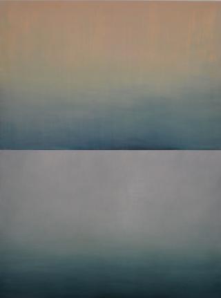 Alex Weinstein, Passing Clouds, Oil on panel