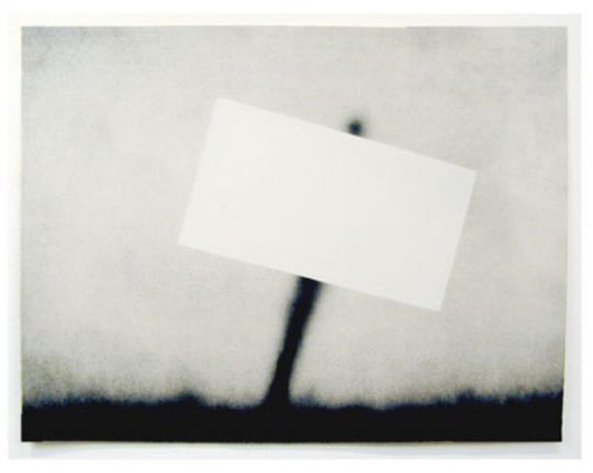 Ed Ruscha, Untitled (Blank Sign), 1989, Lithograph