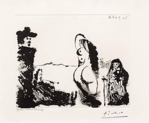 Pablo Picasso, Un Dejeuner Sur, 347 Series, Aquatint