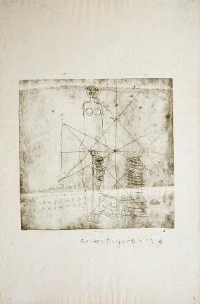 Anton Heyboer, Untitled Etching