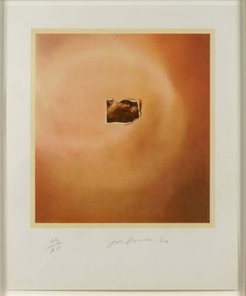 Joe Goode, Photo Cloud (Orange), Lithograph