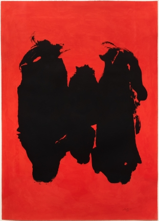 Robert Motherwell, Three Figures, Lithograph