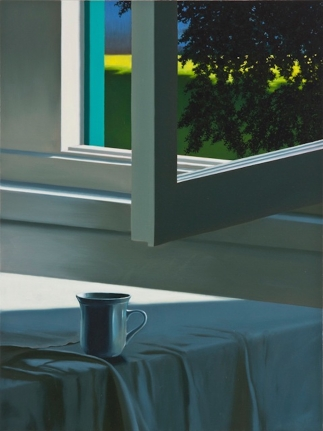 Bruce Cohen, Coffee Cup, Oil on Canvas