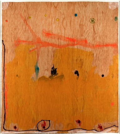 Helen Frankenthaler, Tales of Genji II, 1998, Woodcut, Abstract, Expressionism, Signed