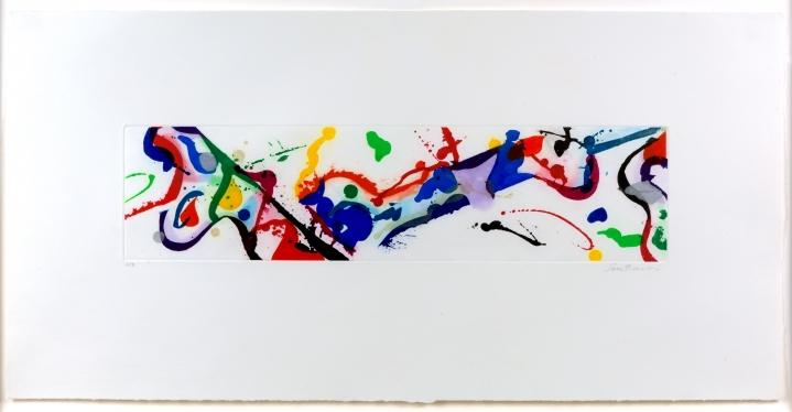 Sam Francis, Untitled, Aquatint