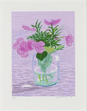 David Hockney, Untitled, ipad drawing