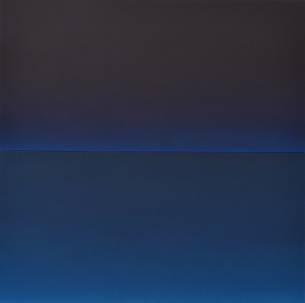 Alex Weinstein, Double Negative, diptych, acrylic on panel
