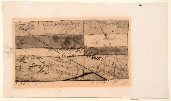 Anton Heyboer, Bepaaldheid, Etching