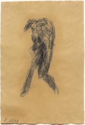 R.B. Kitaj, Little Whist Self-Portrait, Drawing