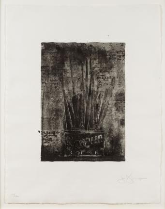 Jasper Johns, Savarin (Cookie), Lithograph