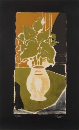 Georges Braque, Feuilles Couleur Lumière, Lithograph
