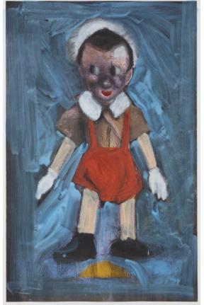 Jim Dine, Pinocchio, Iris Print