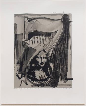 Jasper Johns, Figure 7, Lithograph