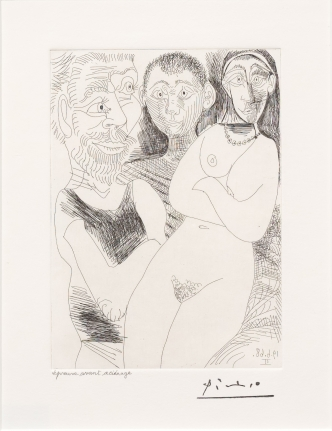Pablo Picasso, Prostitutee et Marins, 347 Series, Etching