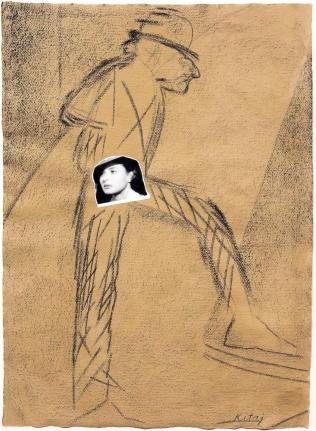 R.B. Kitaj, Parist, Drawing