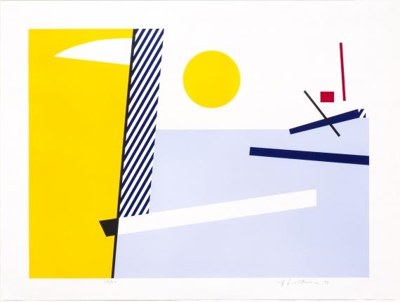 Roy Lichtenstein, Bull Head III, Lithograph, Screenprint