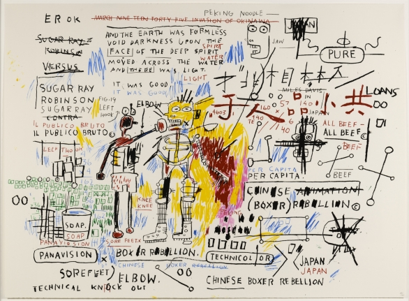 Jean-Michel Basquiat, Boxer Rebellion, 2018, Screenprint