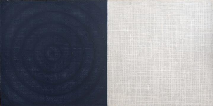 David Shapiro, Clearing 4, Acrylic on canvas