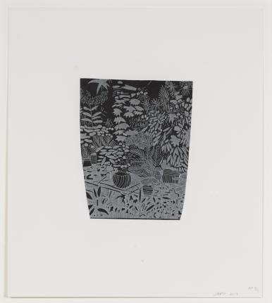 Jonas Wood, Untitled from 8 Pots, 2017 (WO116)