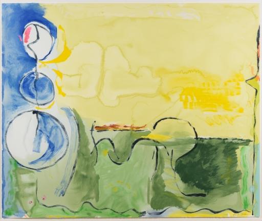 Helen Frankenthaler, Flotilla, 2006, Screenprint, Abstract, Expressionism, Signed
