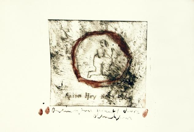 Anton Heyboer, Untitled, Etching