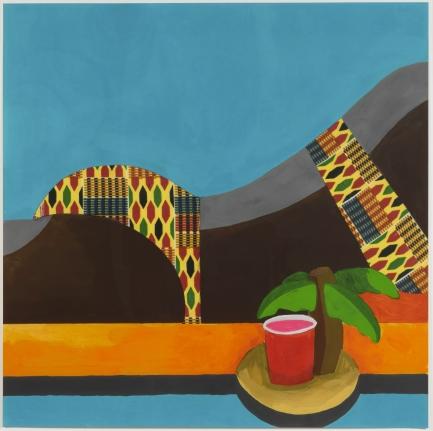 Derrick Adams, Floater, 2016, Pigment print