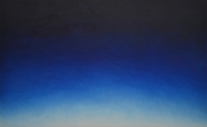 Alex Weinstein, Untitled (A Demain), Oil on canvas