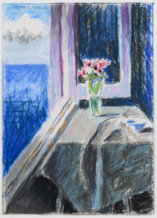 Bruce Cohen, Untitled #9, pastel on paper, signed in pencil, 2016