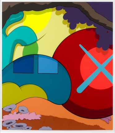 KAWS, You Should Know I Know, Screenprint