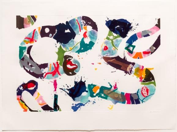 Sam Francis, Untitled, Aquatint, Print, 1993