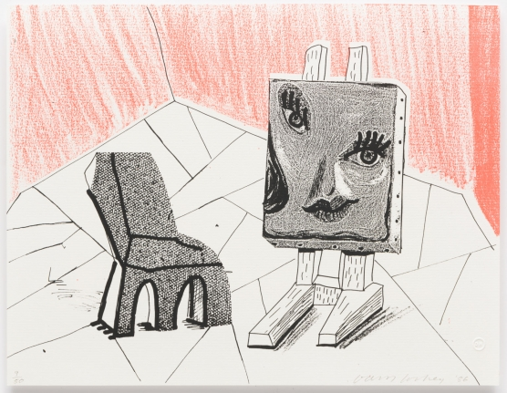 Celia with Chair, March 1986, Print, Edition