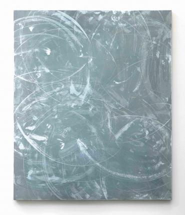 Marc Katano, Monsho, Acrylic on canvas