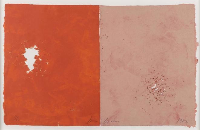Joe Goode, Shotgun, lithograph