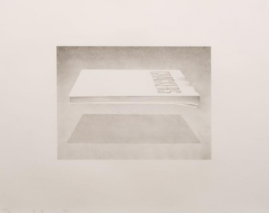Ed Ruscha, Crackers, Lithograph