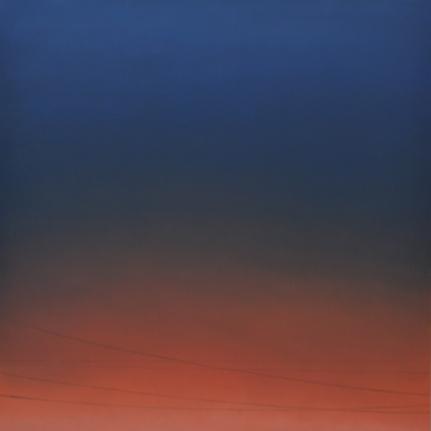 Alex Weinstein, LAX, Tonight, Oil and graphite on panel