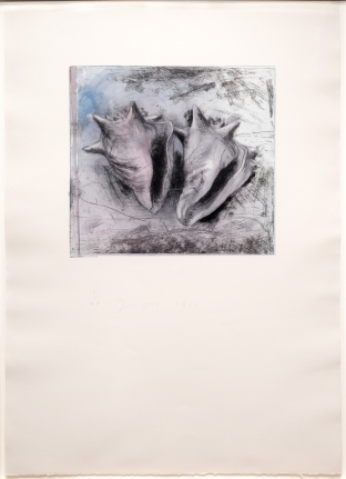 Jim Dine, Key West Print, Etching, Lithograph