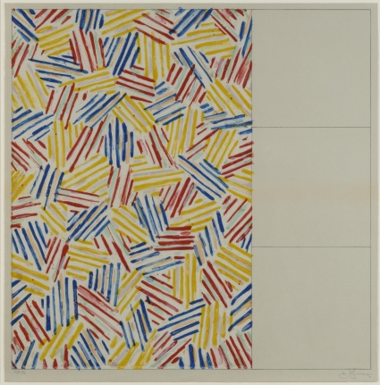 Jasper Johns, #1 (After Untitled 1975), 1976, Lithograph