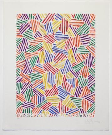 Jasper Johns, Cicada, Silkscreen