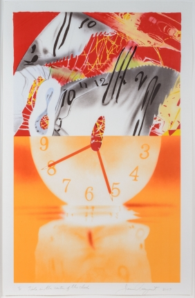 James Rosenquist, The Hole in the Center of the Clock, Lithograph