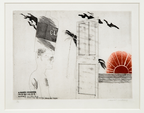 David Hockney, Etching