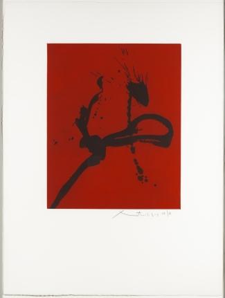Robert Motherwell, Gesture IV, Aquatint