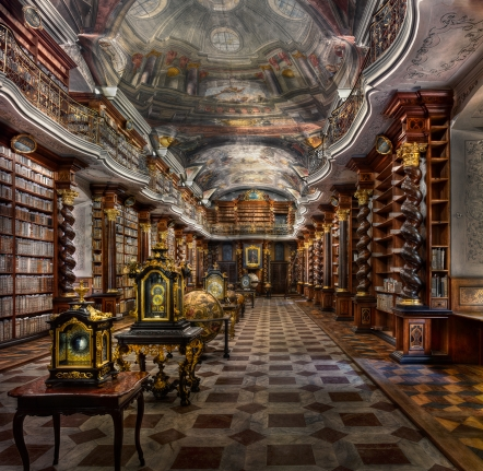 Baroque Library Hall - Clementinium
