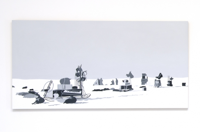 South Pole Expedition, Kota Ezawa, Christopher Grimes Gallery