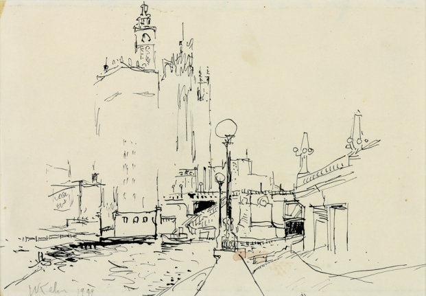 Wolf Kahn - Early Drawings - Exhibitions - Jill Newhouse Gallery